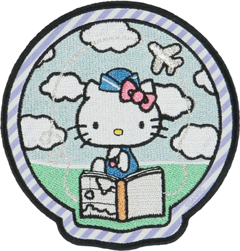 Hello Kitty Map Patch