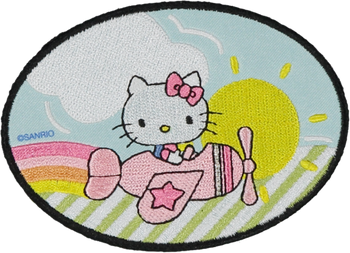 Hello Kitty Flying Patch