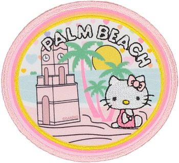 PRE ORDER Hello Kitty Palm Beach Patch