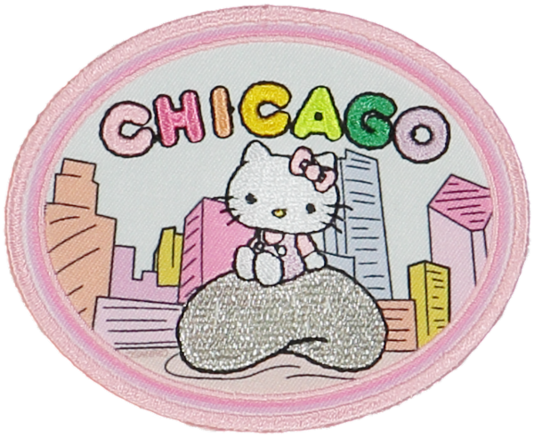 PRE ORDER Hello Kitty Chicago Patch
