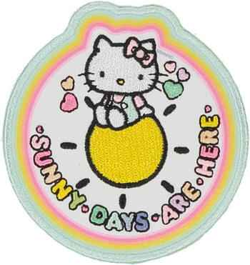 Hello Kitty Sunny Days Are Here Patch