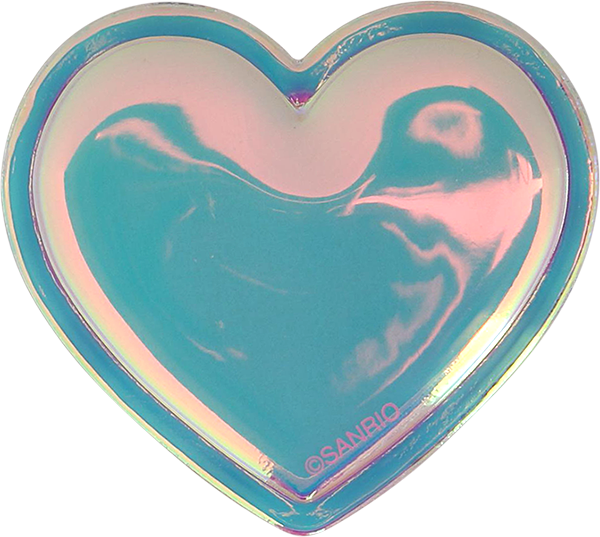 Hello Kitty Iridescent Heart Patch