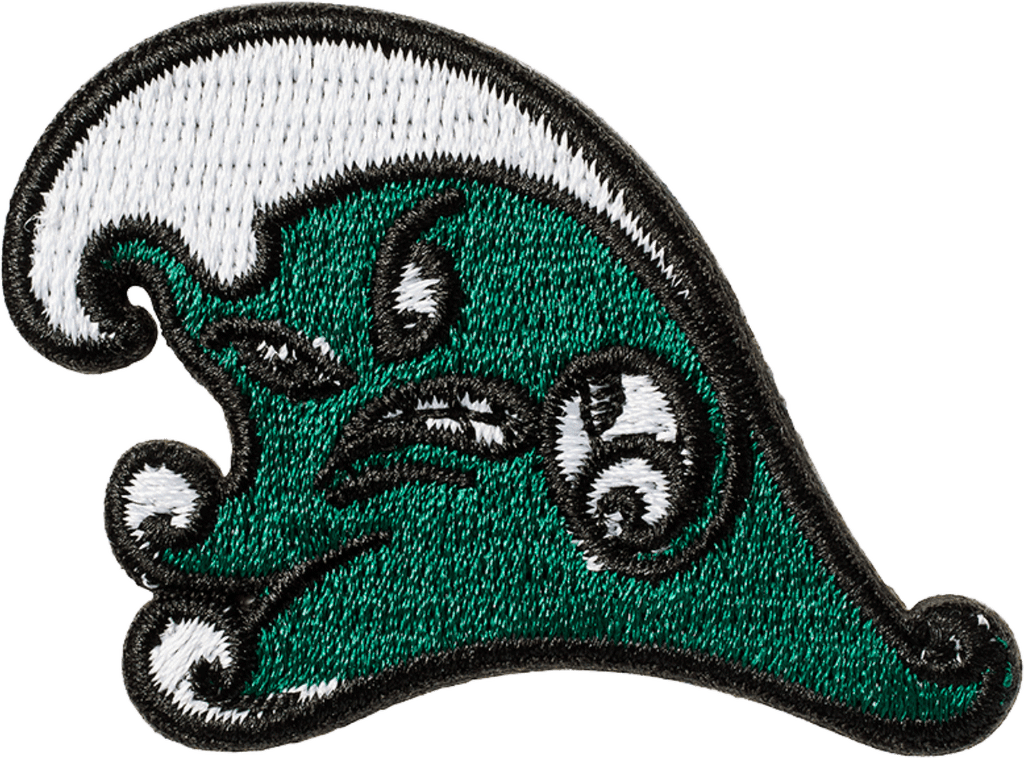 Tulane Wave Sticker Patch
