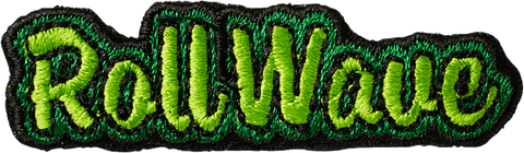Roll Wave Sticker Patch