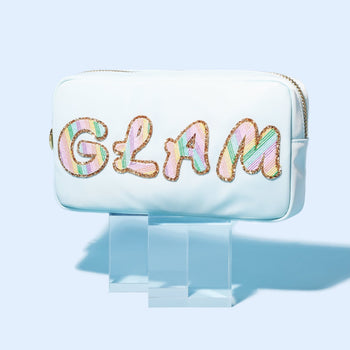 Sky Small 'Glam' Pouch