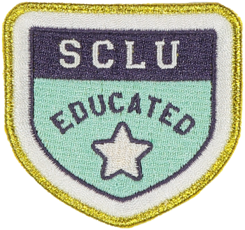 SCLU Educated Sticker Patch