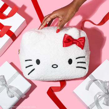 Hello Kitty Holiday Cozy Large Pouch