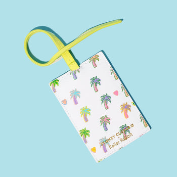 Palm Dreams Luggage Tag