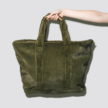 Cozy Evergreen Tote Bag