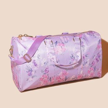 LoveShackFancy x Stoney Clover Lane Hibiscus Duffle Bag