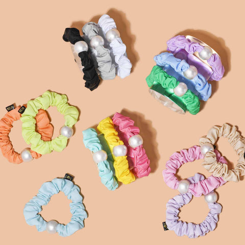 Lele Sadoughi x Stoney Clover Lane Scrunchie Sets