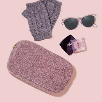 Cozy Mauve Small Pouch