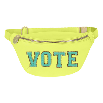 Lime 'Vote' Fanny Pack
