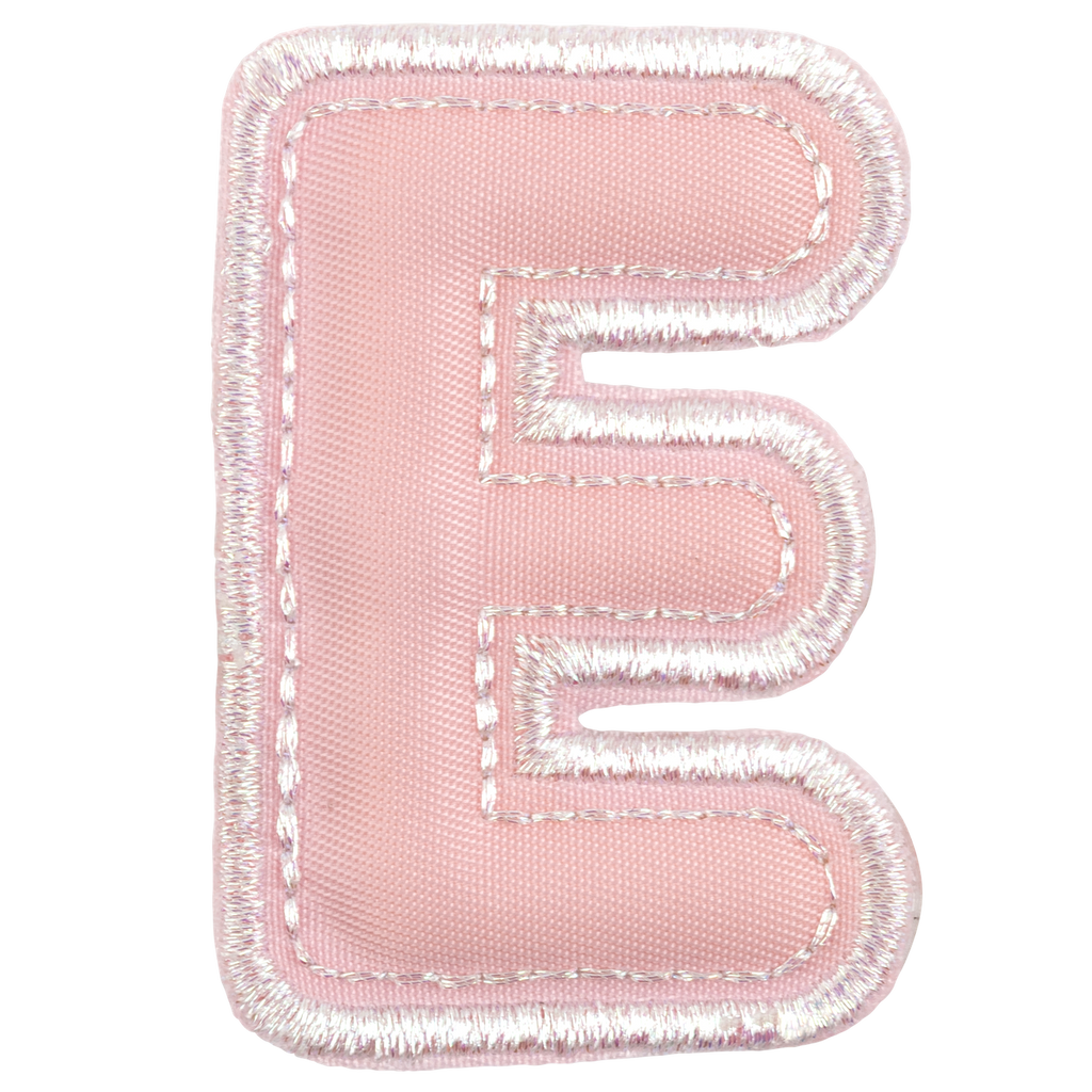 Puffy Over the Rainbow Letter Patch