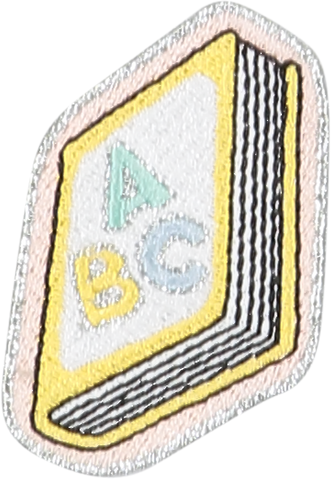 Book Sticker Patch