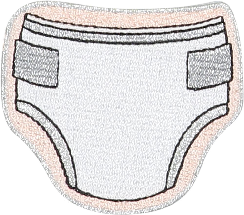 Diaper Sticker Patch