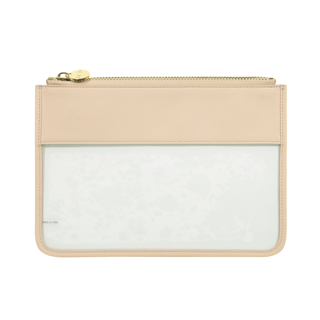 Pastel Clear Flat Pouch
