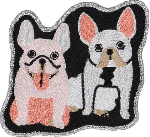 Frenchie BFFs Sticker Patch