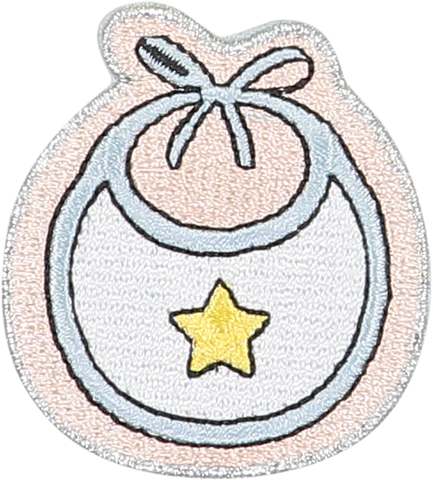 Bib Sticker Patch