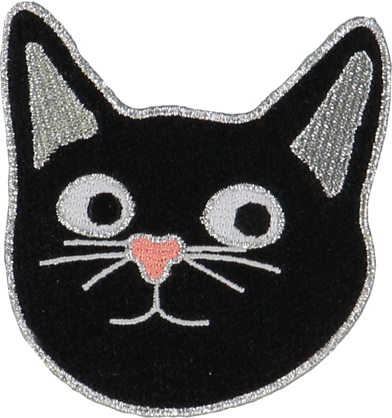 Cat Face Sticker Patch