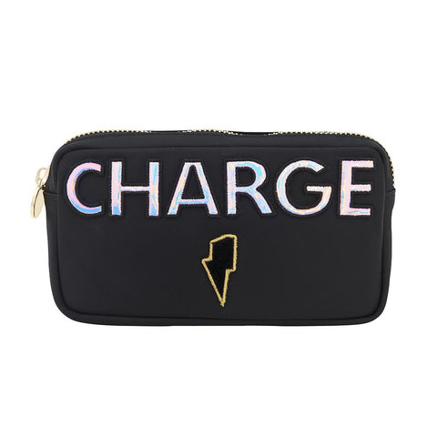 Charge Small Nylon Pouch