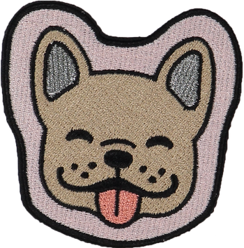 Dog Face Sticker Patch