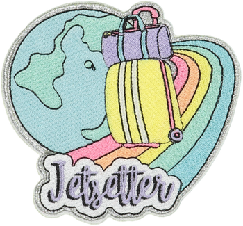 Jetsetter Sticker Patch