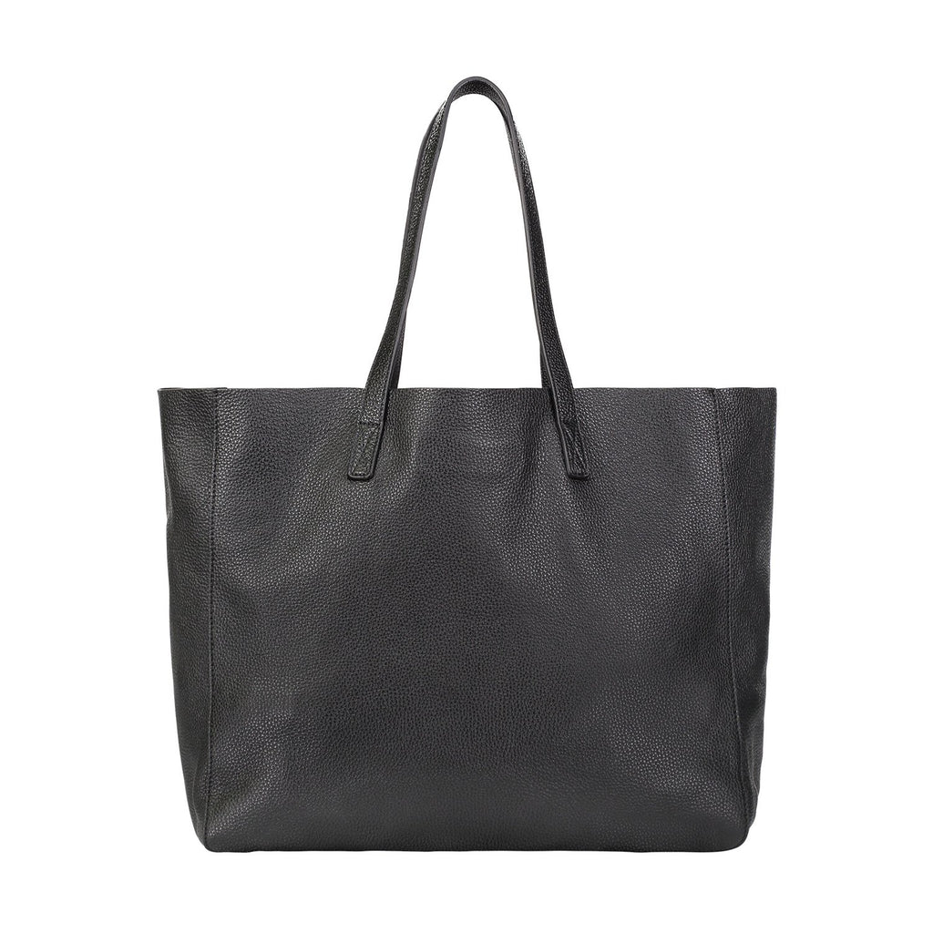 Slouchy Leather Tote Bag