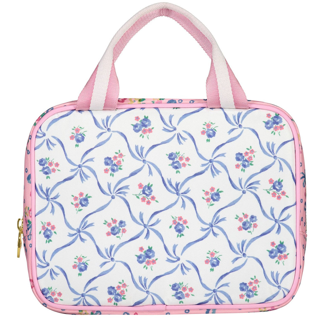 LoveShackFancy x Stoney Clover Lane Blue Ribbon Lunch Tote