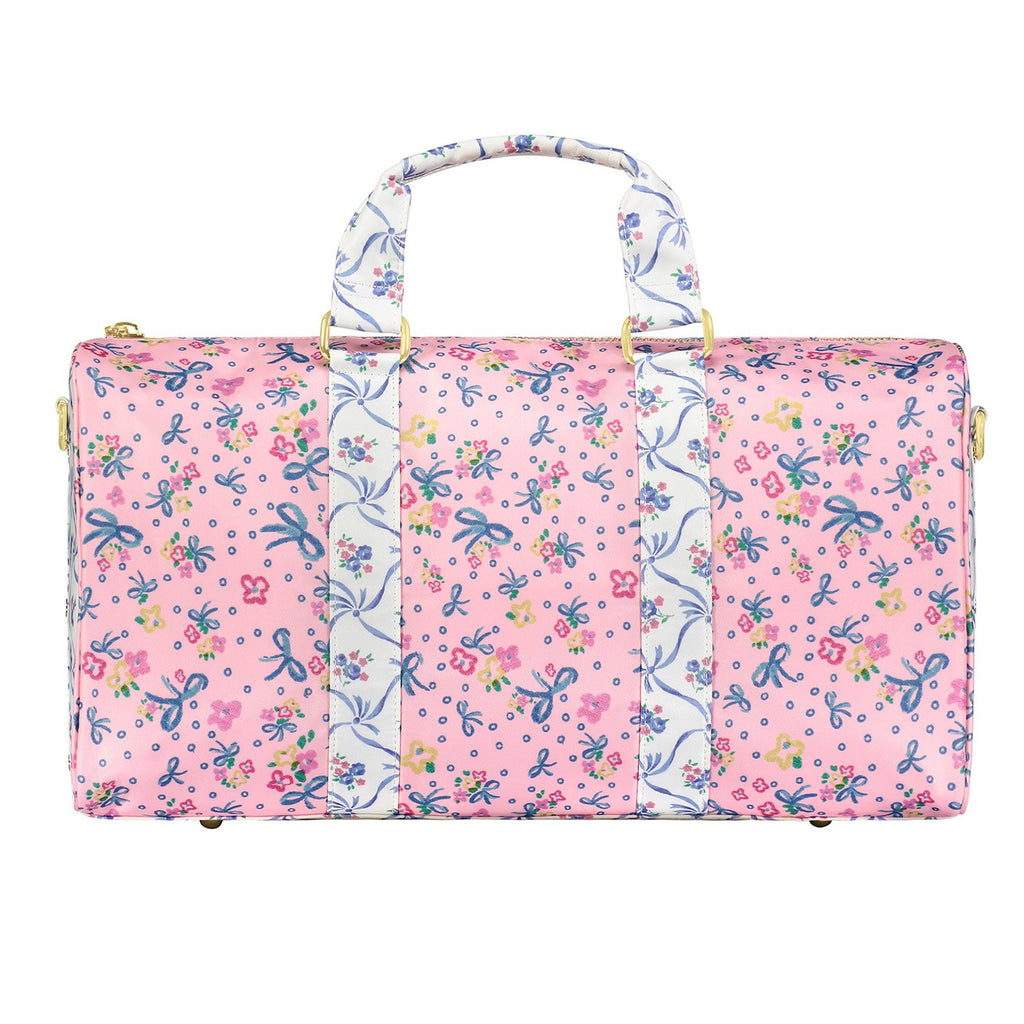 LoveShackFancy x Stoney Clover Lane Baby Bell Pink Mini Duffle Bag