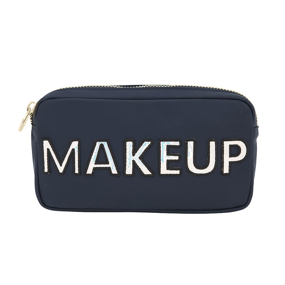 Makeup Navy Small Pouch