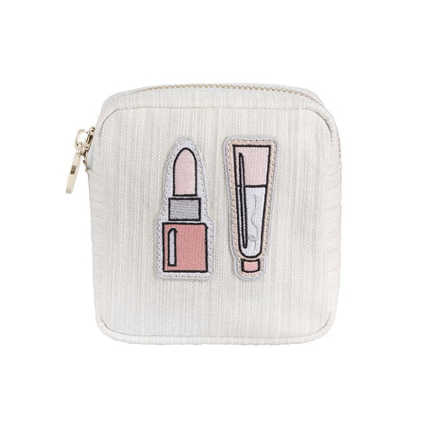 Lip Kit Denim Mini Pouch