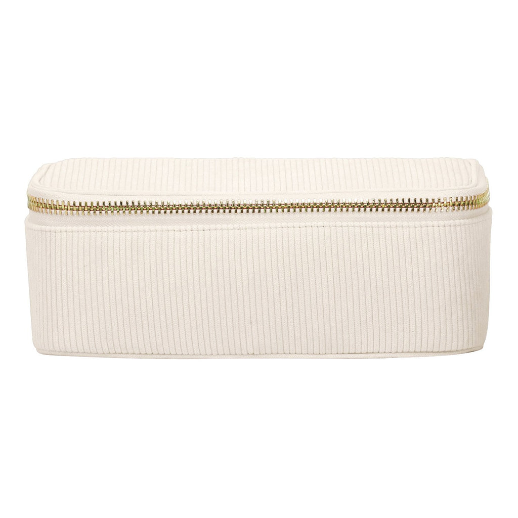 Corduroy Open Top Mirror Pouch