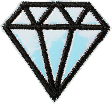 Puffy Iridescent Diamond Patch