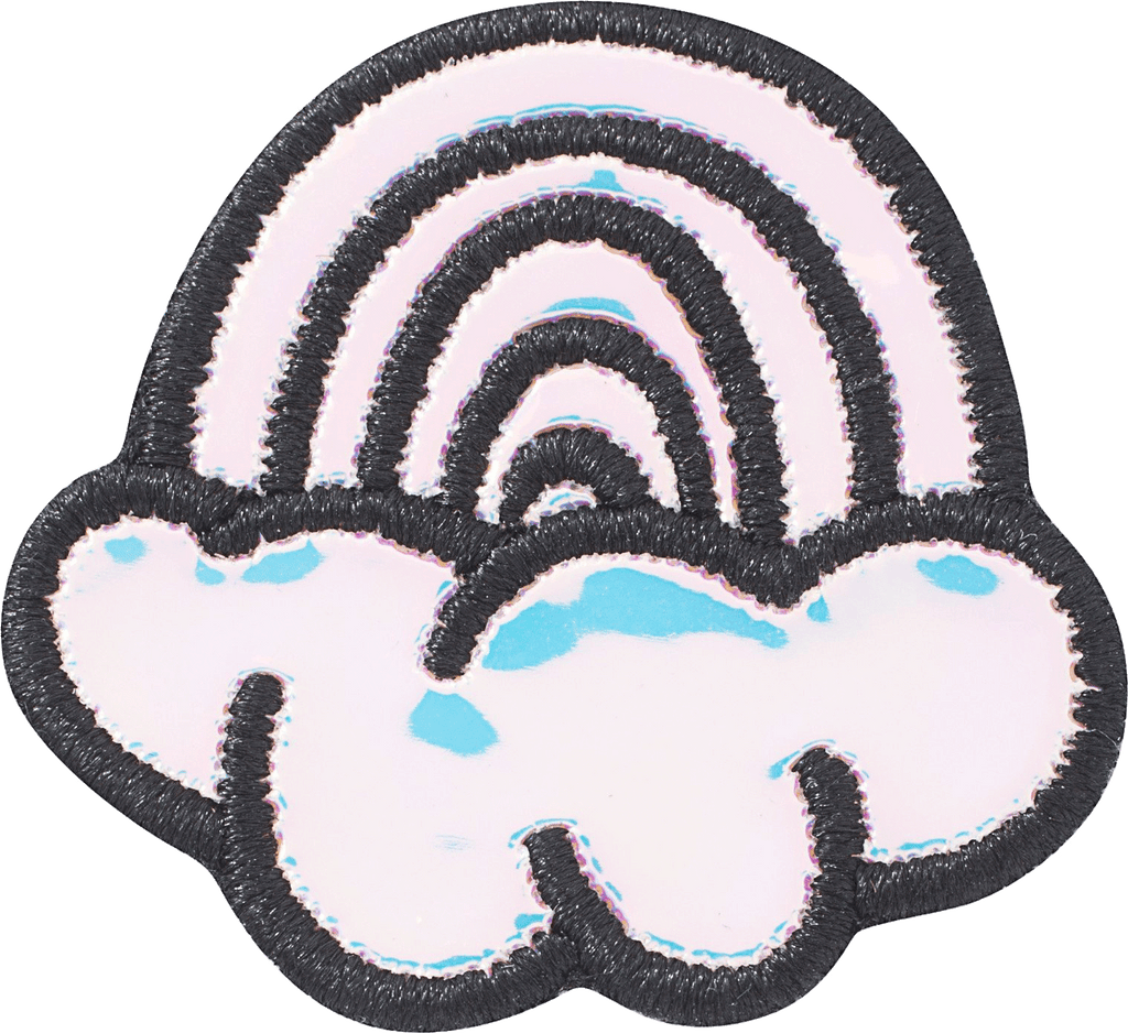 Puffy Iridescent Rainbow Patch