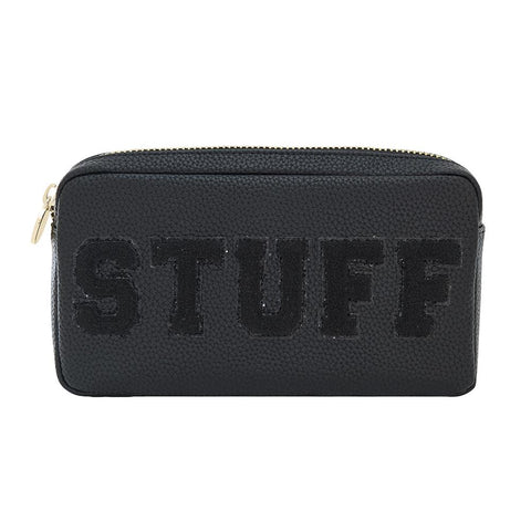 Luxe Stuff Black Small Pouch