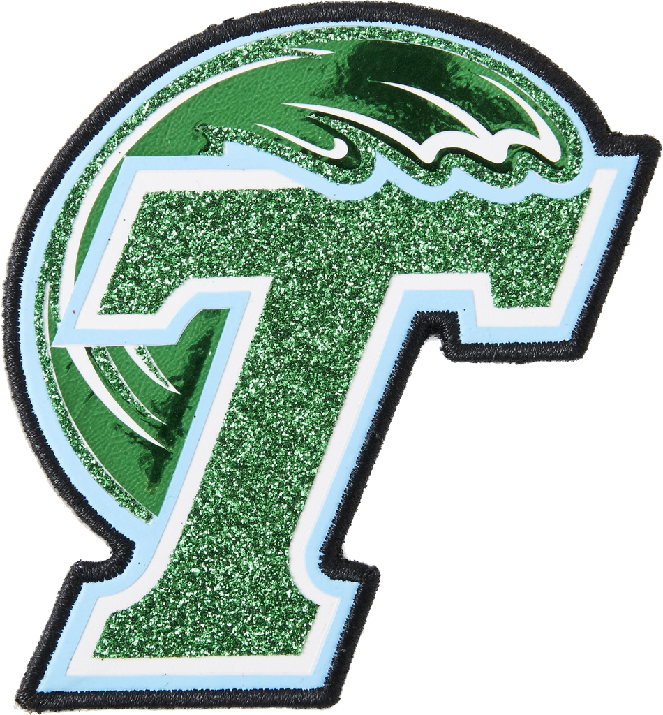 Tulane Logo Jumbo Sticker Patch