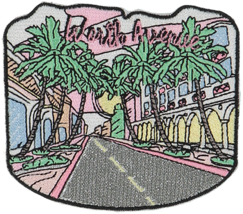 Worth Ave Sticker Patch