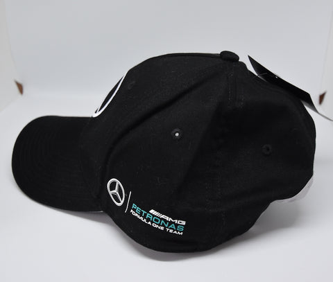 Mercedes F1 Silver Arrows Cap - Black BNWT