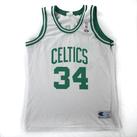 Boston Celtics Champion #34 Paul Pierce - Adult XL