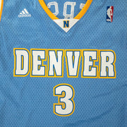 Denver Nuggets Adidas Home Iverson #3 - Adult L