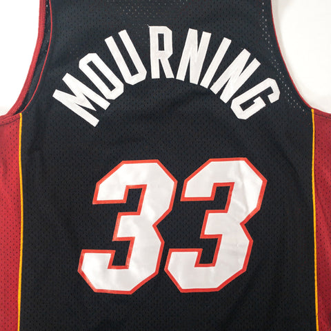 Miami Heat Nike Home #33 Mourning - Adult M