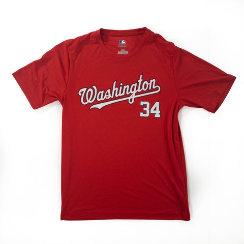Washington Nationals #34 Harper Tshirt - Adult M