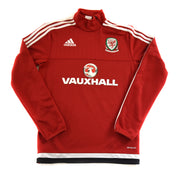2016 WALES ADIDAS PULLOVER - ADULT XS