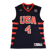 2004 ALLEN IVERSON #4 TEAM USA OLYMPIC BASKETBALL JERSEY - ADULT M