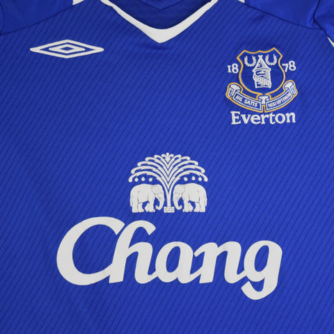 2008-09 EVERTON HOME SHIRT - ADULT L