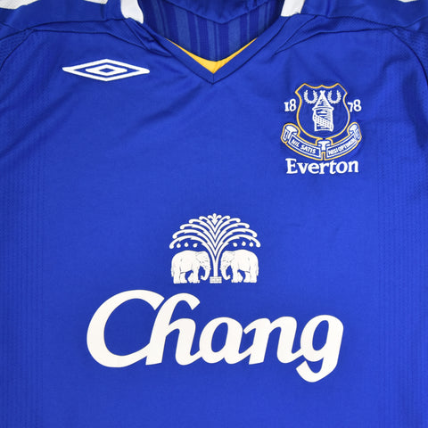 2007-08 EVERTON HOME SHIRT - ADULT L