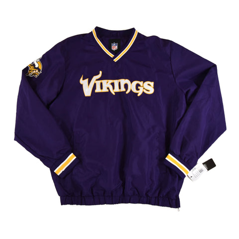 MINNESOTA VIKINGS PULLOVER TOP - ADULT L *BNWT