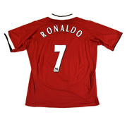 2004-06 MANCHESTER UNITED HOME SHIRT RONALDO #7 - ADULT XL
