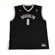 2013 BROOKLYN NETS HOME JERSEY WILLIAMS #8 - ADULT XXXL BNWT